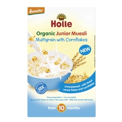 MULTIGRAIN with CORNFLAKES Junior Muesli, Organic, HOLLE