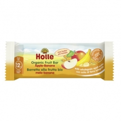 APPLE and BANANA Fruit Bar, Organic, HOLLE